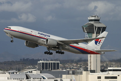 Malaysia Airlines Boeing 777-2H6/ER 	Los Angeles - International (LAX / KLAX) USA - California, October 28, 2013 Reg: 9M-MRO  Cn: 28420/404 The famous and tragic 9M-MRO in her better days seen taking off from LAX. It operated the still missing flight MH 370.