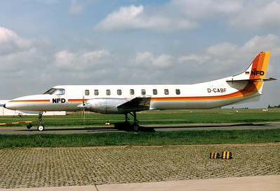 NFD - Nurnberger Flugdienst Fairchild SA-227AC Metro III 	Nuremberg (NUE / EDDN) Germany, June 19, 1987 Reg: D-CABF Cn: AC-551 Sold to New Zealand in 1990 and destroyed due to as yet unexplained mid-air explosion central North Island, New Zealand on Tuesday 3 May 2005.
