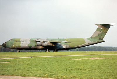 USA - Air Force Lockheed C-5A Galaxy Nuremberg (NUE / EDDN) Germany, May 1991 Reg: 67-0170  Cn: 500-0009 Operated by New York Air National Guard - Empire State