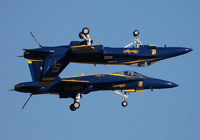 Fort Worth - Alliance (AFW / KAFW) USA - Texas, October 24, 2009 U.S. Navy Blue Angels - Formation flying in perfection. F-18 Hornet Hi there, how are we doing today?