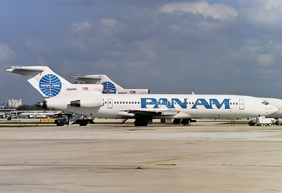 "Pan American Airways - Pan Am Boeing 727-221/Adv 	Fort Lauderdale - Hollywood Intl. (FLL / KFLL) USA - Florida, January 1999 Reg: N367PA  Cn: 22539/1794 ""Clipper Egil"" of the 2nd Pan Am. This aircraft was also part of the original Pan Am's fleet (""Clipper Matchless"", 1982-1991)."