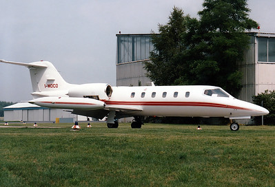 Crashed at NUE February 8th, 2001, Learjet 35A I-MOCO, c/n 35-445