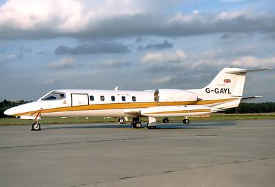 7.10.1987: Gates Learjet 35A Nürnberg (NUE / EDDN) G-GAYL (cn 35A-429)