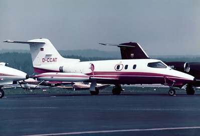 Gates Learjet 24D Nuremberg (NUE / EDDN) Germany, May 14, 1979 Reg: D-CCAT Code: Cn: 24D-254 ex D-ICAY op. by Schickedanz/Quelle