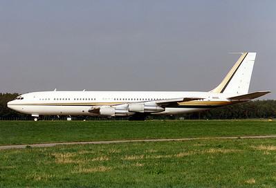 LOWA Boeing 707-330B  Nuremberg (NUE / EDDN) Germany, July 1995 Reg: N88ZL  Cn: 18928/457 Ex D-ABUF with Lufthansa and Condor.
