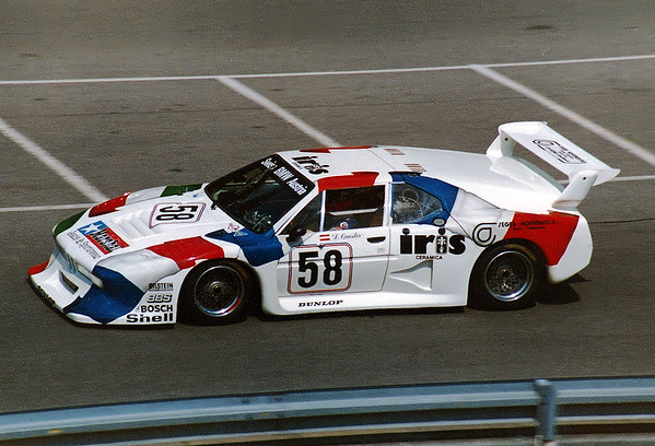 Norisring 28.6.1981; Dieter Quester (AUT) im BMW M1 Gr.5 #81.M1R.01 (Sauber) - BMW M88 L6 4v 3500 cc N/AGr.5 Sauber Racing Switzerland (CH)