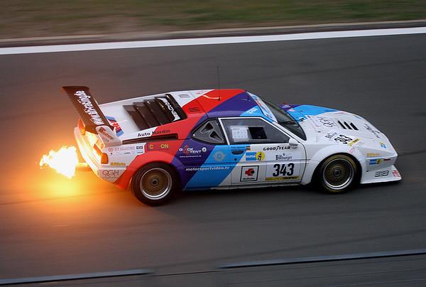1979 BMW M1 Procar at Oldtimer Grand Prix 2009, Nuerburgring, Germany.